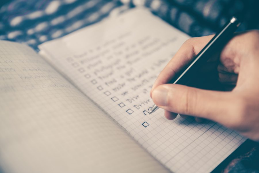 Forskellige typer af blogindlæg: Tjeklister