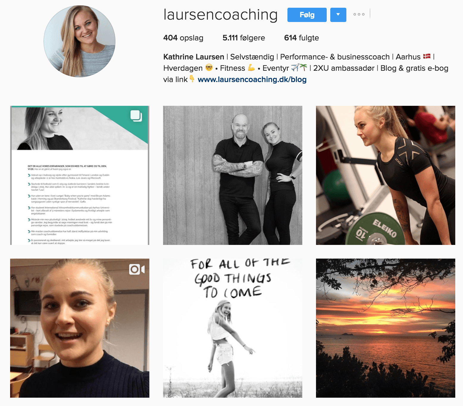 Laursen Coaching på Instagram