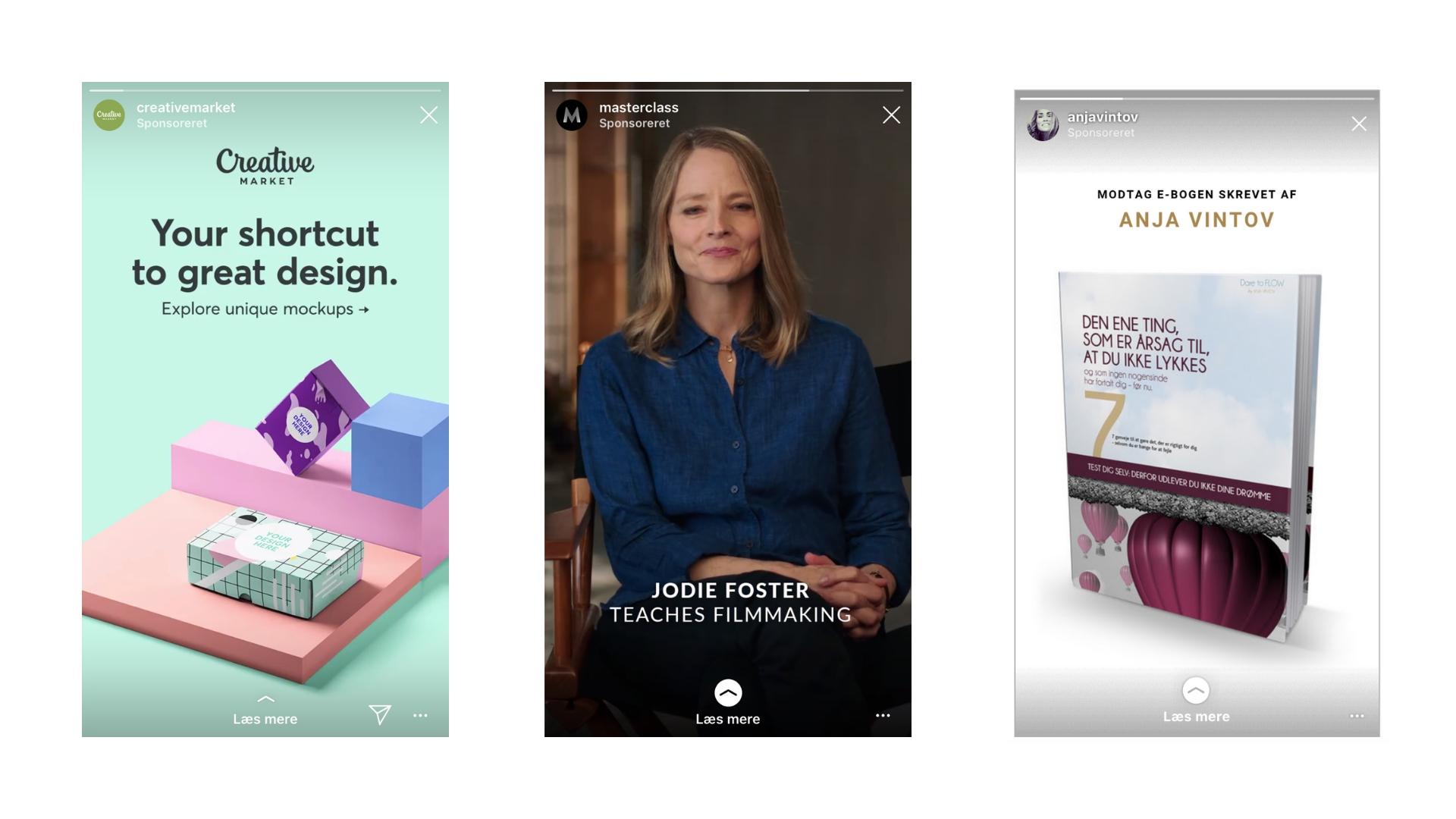 Hvad er annoncering i Instagram Stories